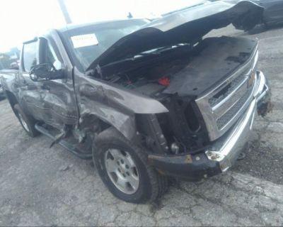 Salvage Brown 2013 Chevrolet Silverado 1500