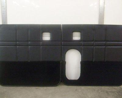 359 379 377 378 Pete Dump Truck Special Door Panels Black Set Of Two