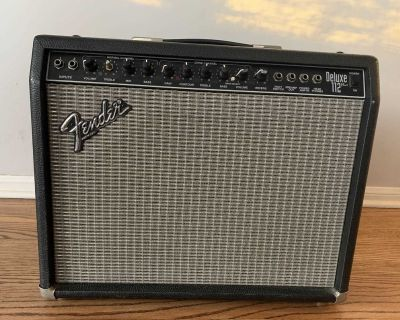 Fender Deluxe 112 Plus Amp PR291 360W GREAT CONDITION