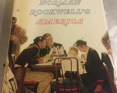 Norman Rockwell s America coffee table book