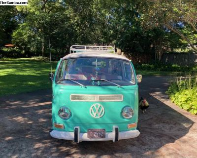 '71 VW Tintop Deluxe - For Camping to Coachella