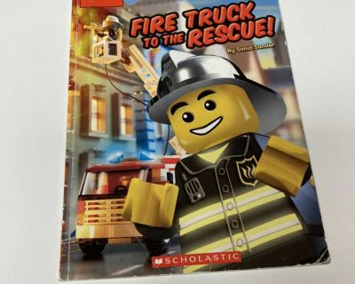 Lego fire truck to the rescue book. GUC