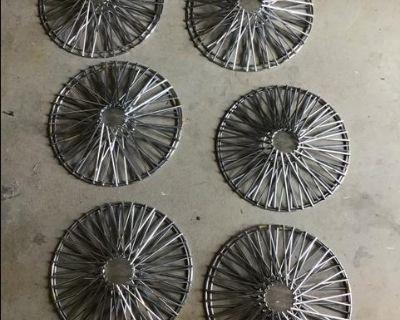 Chrome Spoke Wheel Covers