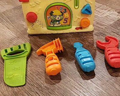 Leap Frog tool box and tools