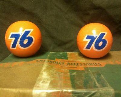 1958 1959 1960 1962 1963 1964 66 Chevrolet Impala Dual Antenna Union 76 Balls