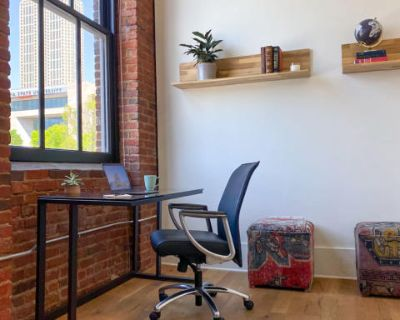 Private Office Space in Historic Sweet Auburn with Downtown Views, Atlanta, GA