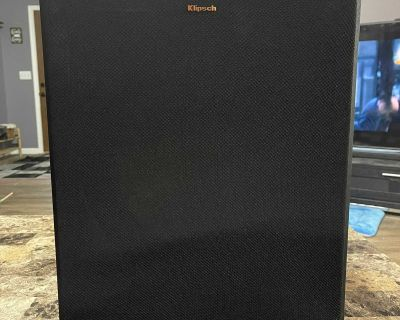 Klipsch R-120SW 12 LARGE Subwoofer for Home Theater