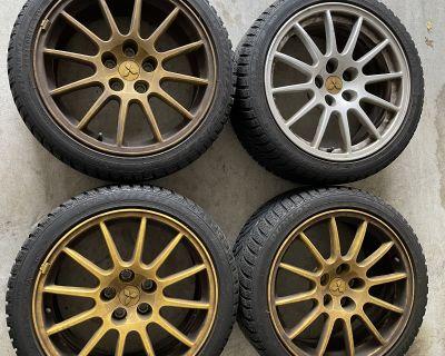 FS: OEM GSR wheels with Dunlop SP Winter Sport M3 tires