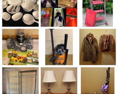GREENFIELD FAMILY HOME SALE - BIDDING ENDS 7/6