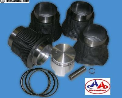 87mm 1641cc AA Performance Pistons and Cylinders
