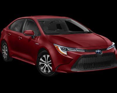 New 2022 Toyota Corolla Hybrid LE FWD