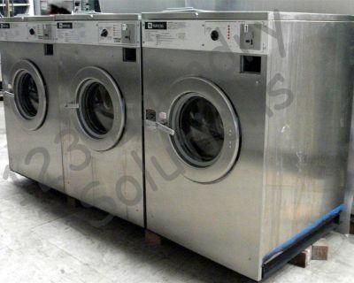 Heavy Duty Maytag Front Load Washer 208-240V 60Hz 3PH MAF35MC3VS Stainless Steel