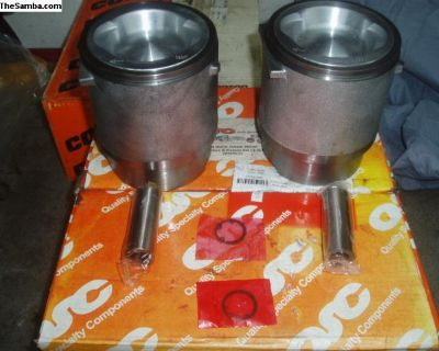 2 x QSC 2.2 cc vanagon piston and cyclinders