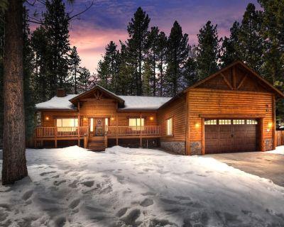 THREE BEDROOM, DUAL MASTER, LUXURY LOG CABIN IN CENTRAL BIG BEAR - Winter Park