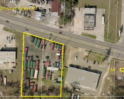 Improved Commercial Land For Sale on Theodore Dawes Road Mobile, AL