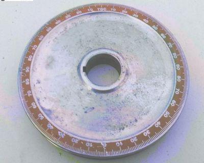Aluminum Degree Pulley Balanced solid