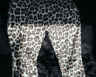 NEW-CATHERINE LILLYWHITE'S LEOPARD PRINT JOGGER