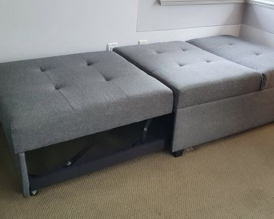Pull-out Bed from Ottoman/Chair