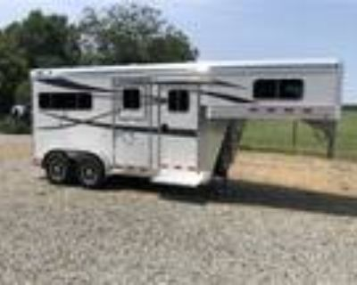 2022 4 Star 2 Horse Straightload Gooseneck Runabout 2 horses
