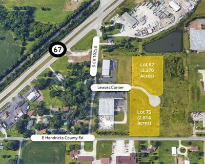 Heartland Crossing Land available for Build-to-Suit