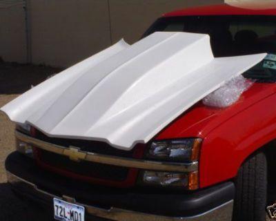 New Fiberglass Liftoff Chevy Camaro Luv Truck Hoods Race Racing Cowl Street Rod