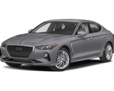 Pre-Owned 2019 Genesis G70 2.0T Advanced RWD 4dr Car