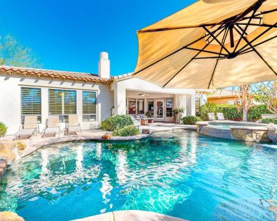 Relaxing home & casita with private pool, spa, gas grill & outdoor fireplaces! - Palm Desert