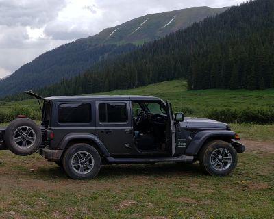 "Colorado - Five Sahara 18"" wheels/tires $300"