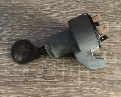 Ignition switch with key