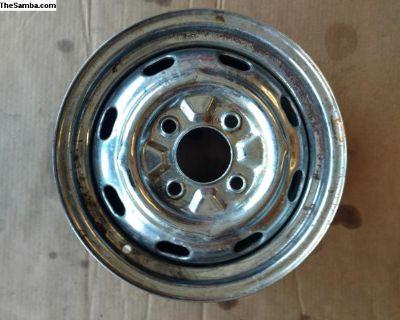 Chrome rim used
