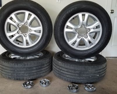 5 Lug Tire & Wheel Package--For Sale or Trade
