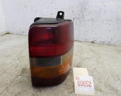 93 94 95 96 97 98 Jeep Laredo Right Passenger Rear Tail Stop Brake Light Oem