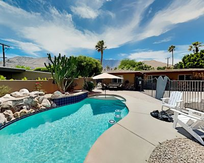 Gated Paradise | Private Pool & Hot Tub | Grill, Alfresco Dining, Firepit - Chino Canyon