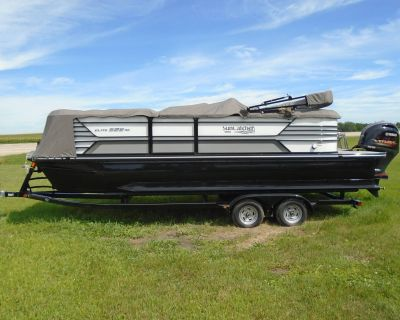 2019 SunCatcher Elite 322 RC Pontoon Boats Lake Mills, IA
