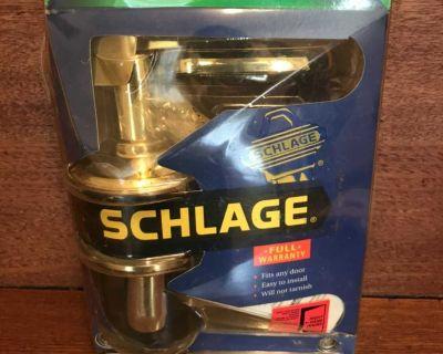 Never used Hall & Closet Brass Door handle