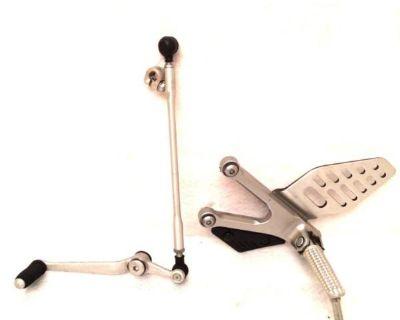 08 09 10 11 12 Yamaha R6 Oem Shifter Linkage And Left Side Rear Set Peg Yzf-r6