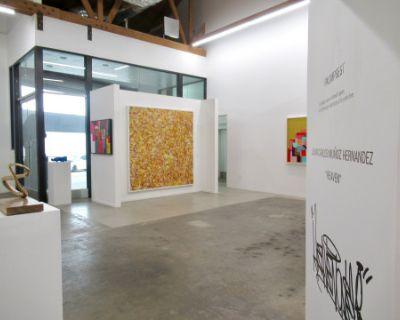 Spacious Art Gallery Downtown Los Angeles Arts District, Elegant Industrial Look, Los Angeles, CA