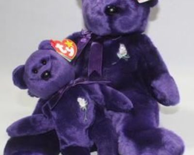 Brand New Ty Beanie Babies From Distributors Estate