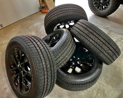 """Missouri - -->CHEAP!<-- 2021 High Altitude 20"""" Wheels and Tires For Sale - Set of 5"""