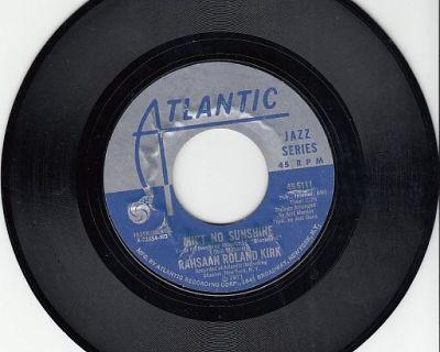 RAHSAAN ROLAND KIRK ~ Ain't No Sunshine*Mint-45 !