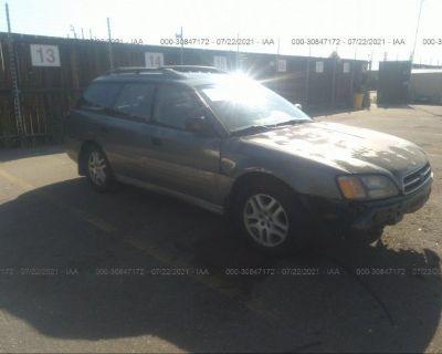 Salvage Silver 2000 Subaru Legacy Wagon