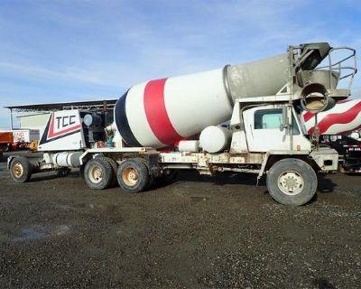 2001 OSHKOSH S2146 Concrete Mixer, Pump Trucks Heavy Duty