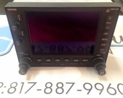 Garmin Gps/nav/com Gns530a 011-00835-00 W/ Sv 8130 & 90 Day Warranty
