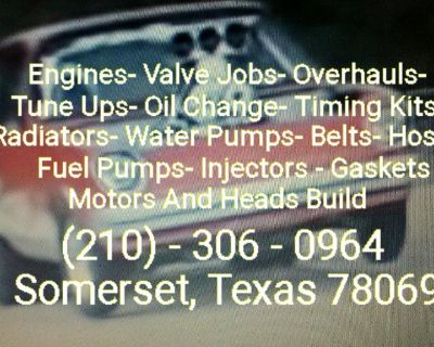 Import And Domestic Engine Repairs 830-346-2568
