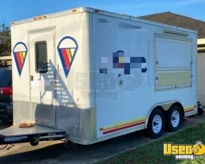 2019 Shaved Ice Concession Trailer / Turnkey Ready Mobile Snowball Business
