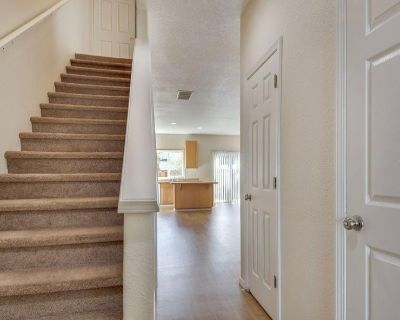 Two bedrooms available in a charming townhouse.
