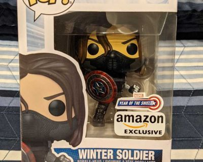 Funko Pop - WINTER SOLDIER (YEAR OF THE SHIELD) AMAZON EXCLUSIVE!
