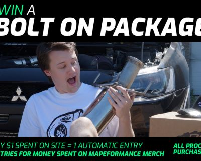 MAPerformance Full Bolt-On Giveway! Enter to win up to $3000 in parts