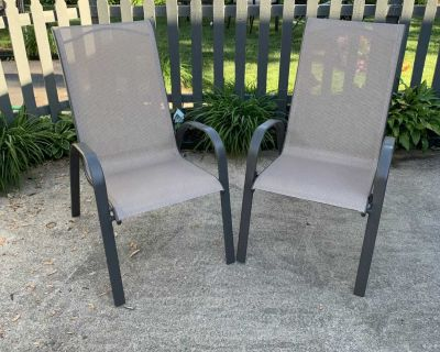 Brand new with tags set of 2 patio chairs from Target
