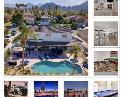 Relax in Paradise!Sleeps16,Pool,spa,BBQ,fire pit,games,pool table,table tennis - Indian Wells